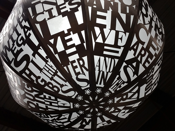 Blessing Hancock's Nicollet Lanterns detail